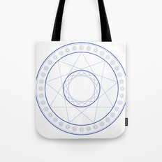 Anime Magic Circle 9 Tote Bag