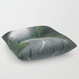 Through The Tunnel Floor Pillow