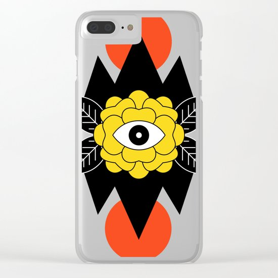 STAY CURIOUS Clear iPhone Case