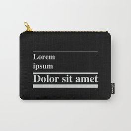 Lorem ipsum, dolor sit amet Carry-All Pouch
