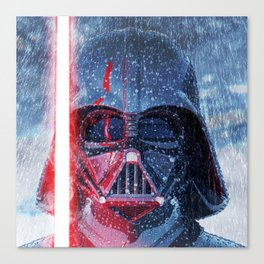 Darth Vader Storm Canvas Print