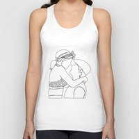 notebook Tank Tops featuring Notebook Doodle by Bethany Mallick