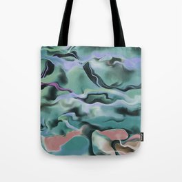 Waves In Harmony Tote Bag