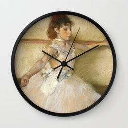 "Edgar Degas ""The Dance Lesson"" Wall Clock"