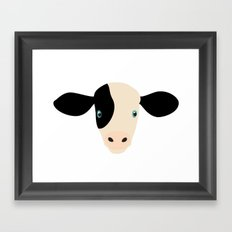 Cow-mor Framed Art Print