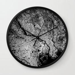 Tokyo map Wall Clock