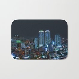 Daegu at Night Bath Mat
