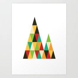Patterned 7A Art Print