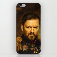 replaceface iPhone & iPod Skins featuring Ricky Gervais - replaceface by replaceface
