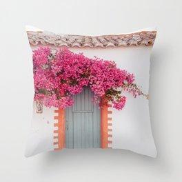 Summer Door Throw Pillow