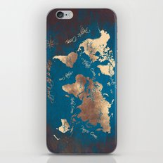 world map 27 iPhone & iPod Skin