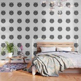 Tiger Head (Geometric) Wallpaper