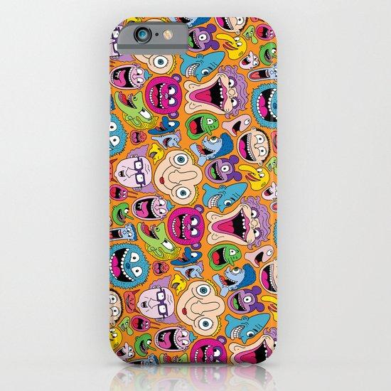 Creepy Smiles Pattern iPhone & iPod Case