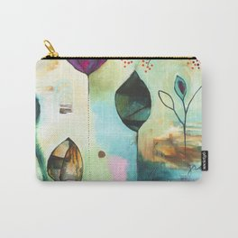 """""""Abundance"""" Original Painting by Flora Bowley  Carry-All Pouch"""