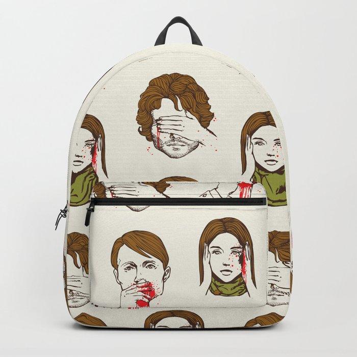 No Evil Hannibal Backpack