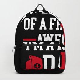 Proud Dad Nurse Nursing Daughter Gift Idea Backpack