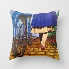 Modern Emerald Throw Pillow