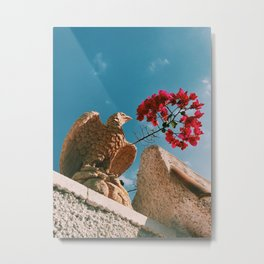 Hello down there. Metal Print