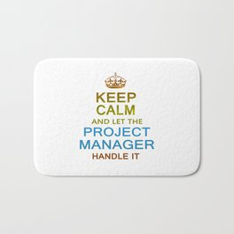 Let The Project Manager Handle it Bath Mat