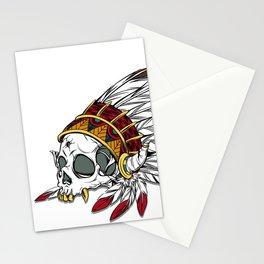 Geronimo's Head Stationery Cards