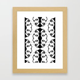 Simplicity is The Intensity (ID274) Framed Art Print