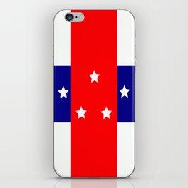 Flag of the Netherlands Antilles iPhone Skin