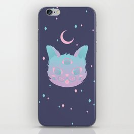Pastel Cat iPhone Skin