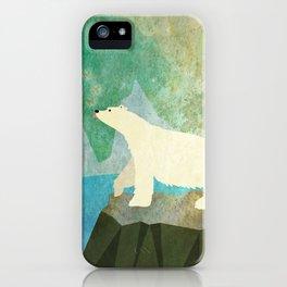 Playful Arctic Polar Bear iPhone Case