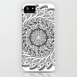 Mandala 1 iPhone Case
