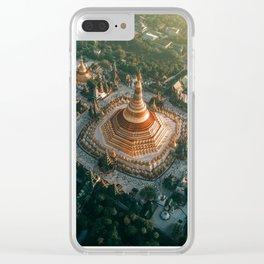 Shwedagon Pagoda, Yangon Clear iPhone Case