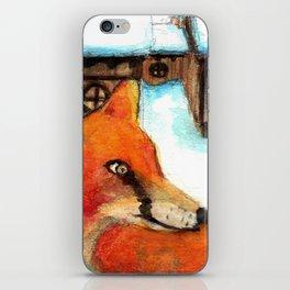 Fox, #1. iPhone Skin