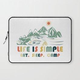 Camping. Eat. Sleep. Camp Laptop Sleeve