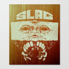 Slag Box Canvas Print