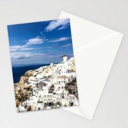 Sunny Oia Stationery Cards