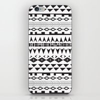 abigail larson iPhone & iPod Skins featuring Abigail Print by Moko and Company