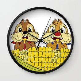 Chip and Dale Wall Clock