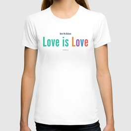 Here We Believe T-shirt