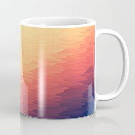 Orange Peach Ombre Coffee Mug