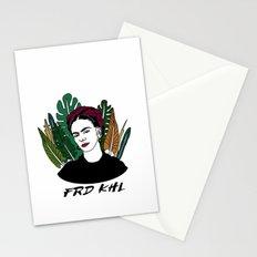 Veggie Frida Stationery Cards