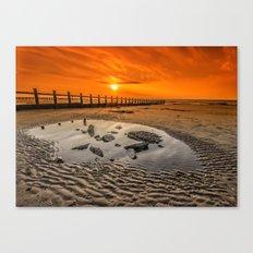 Blazing Sands Canvas Print