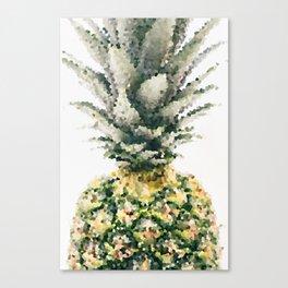 Pineapple crystallize Canvas Print