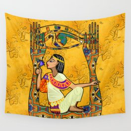 Egyptian Fusion Wall Tapestry