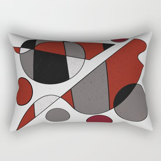 Abstract #128 Rectangular Pillow