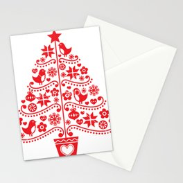 arvore de natal Stationery Cards