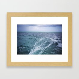 All the Colors of the Sea Framed Art Print