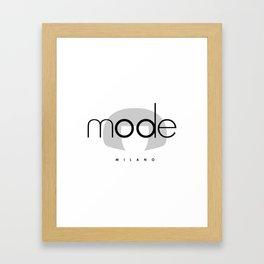 edna mode MILANO Framed Art Print