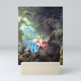 Swingin' Mini Art Print