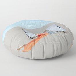 summer vibes Floor Pillow