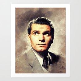 Sir Laurence Olivier, Actor Art Print