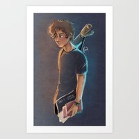 artsy Art Prints featuring Artsy Harry by Laia™